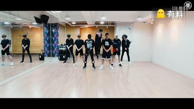 160810 韩国男子组合 MONSTA X 《Stuck》 练习室版