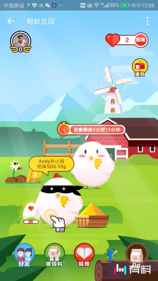 #偷吃的鸡,吃得贼快#