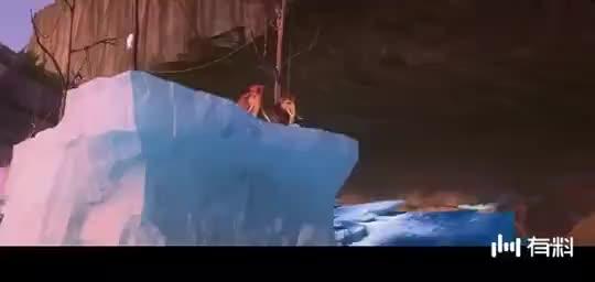 《冰川时代》完美结局,树懒送给奶奶一副假牙,吃水果效率惊人!