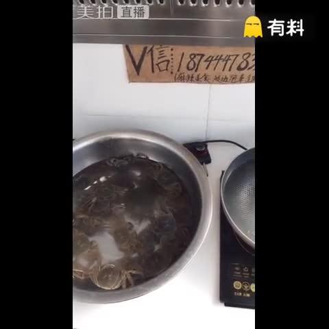 秘制麻辣美食制作中 #美拍金牌播主# 吃货...