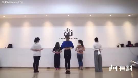 韩舞k-pop《眼泪簌簌》,简单易学又好看