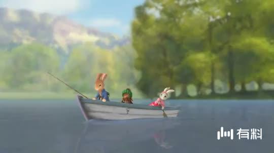 【比得兔】逃脱之鱼的故事