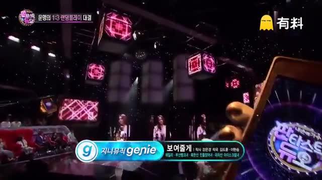 Ailee与三位素人对唱《给你看》,听到最后整人都要燃起来了,真的太棒很有感染力。