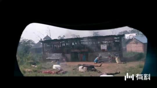 #电影片段#《中国蓝盔》