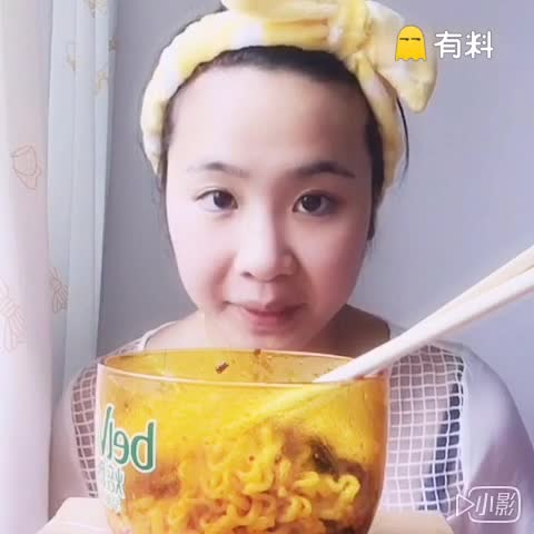 吃#韩国爆辣三养火鸡面#明天和大家相约吃...