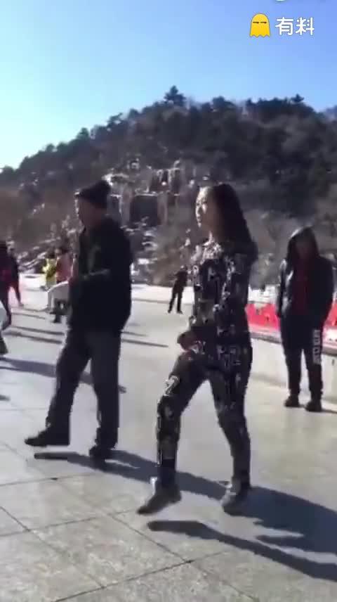 #鬼步广场舞#