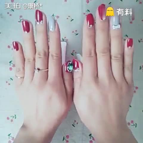 DIY简单手膜