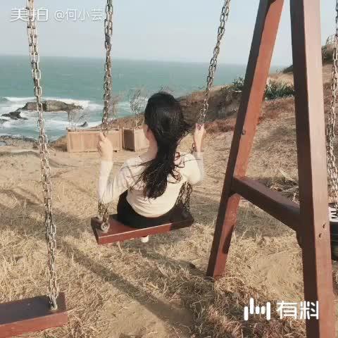 美拍视频: 面朝大海