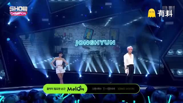 160601 冠军秀 SHINee 金钟铉 - White T-Shirt Solo舞台现场版