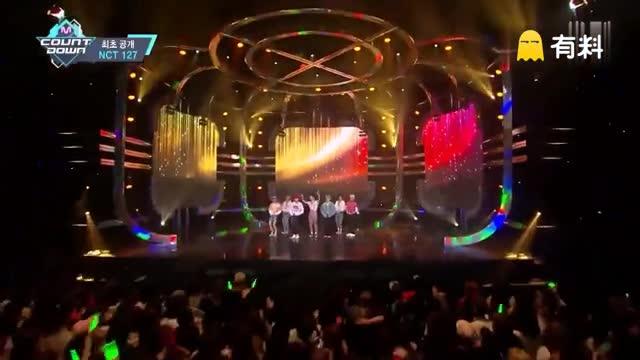 160707 MCountDown NCT 127 - Once Again 出道初舞台现场版