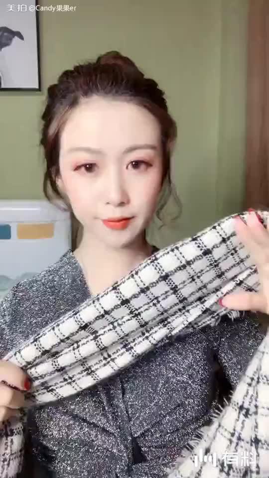 围巾100种系法