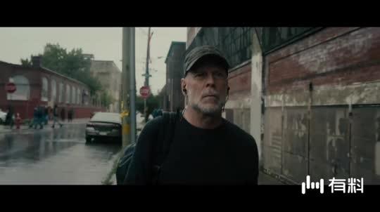 #电影片段#《玻璃先生》布鲁斯老了还那么帅