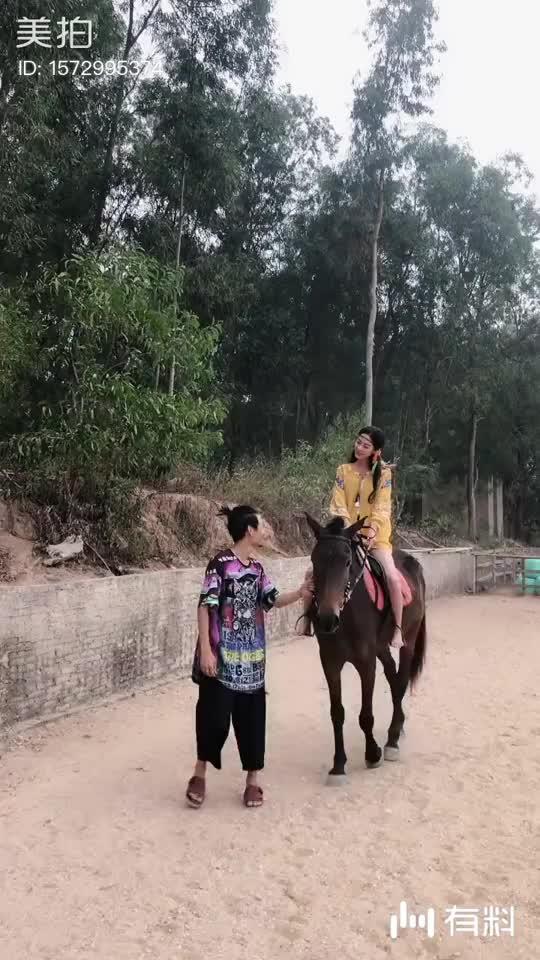 三亚|天涯海角景区骑马