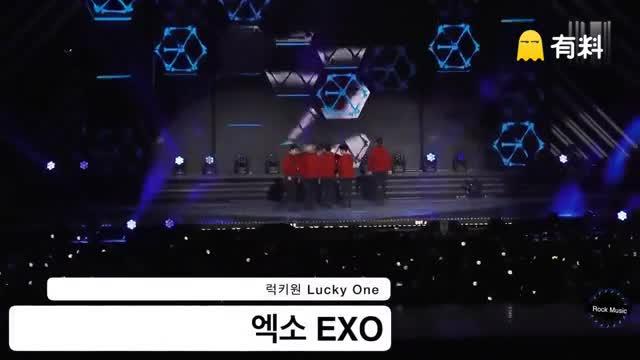 160618 水原 Kpop Super Concert 韩国男子组合 EXO - Lucky One