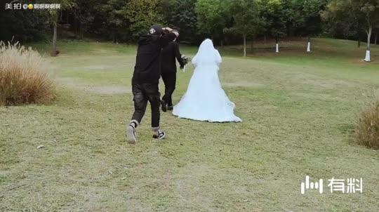 美拍视频: 婚纱照