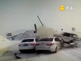 下雪开哈那么快死啊