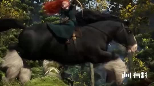 动画电影之《勇敢传说》:Brave!勇敢面对命运