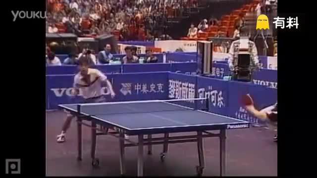 乒乓球国手孔令辉,刘国梁谁更强,高手的巅峰对决