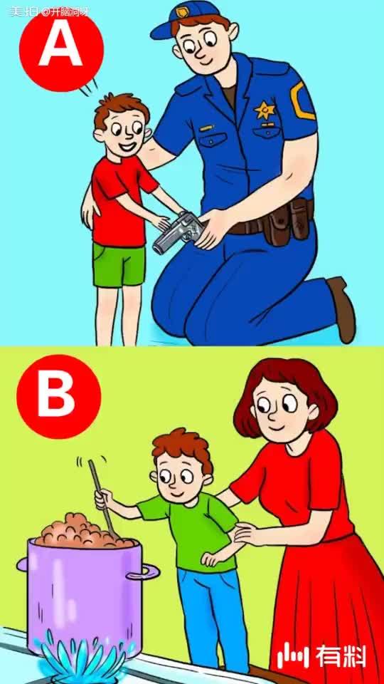 哪个家长教育孩子的方式是正确的?
