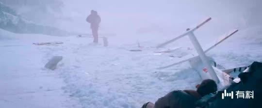 #电影片段#《冰峰暴》