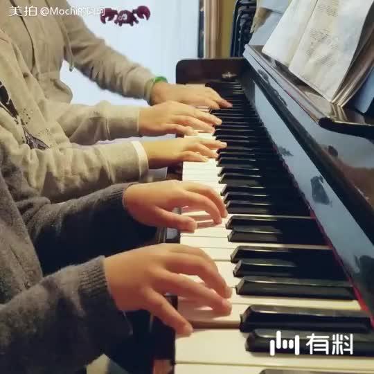 《风中细语》六手联弹 沈昕&程若锦&唐老师
