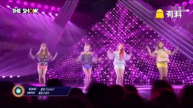 160712 The Show Melody Day - Color 现场版