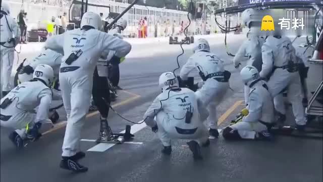 F1赛事车队秒换胎 1.92秒创造纪录