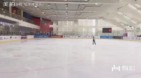 今天的冰童选拔赛还算正常发挥,不出问题应该可以入选冰童。