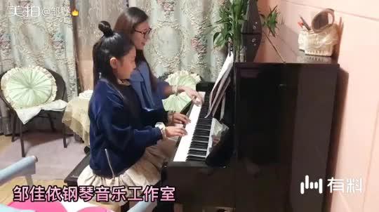 姐姐的课堂。想学钢琴的宝宝come on!