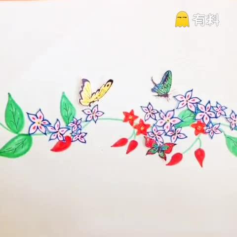 花若盛开,蝴蝶自来