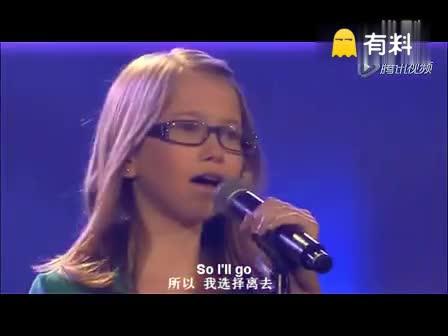 小女孩演唱经典歌曲《I will always love you》,超级好听,耳朵要怀孕了!