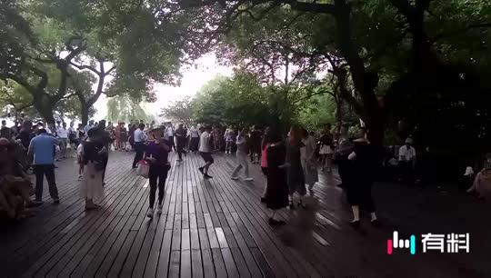 西湖动感舞蹈