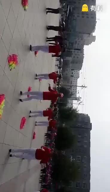 #大神都是这样玩的#天歌广场,健身舞步
