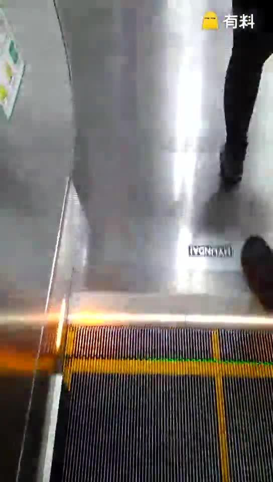 #做扶梯有阴影啊!#