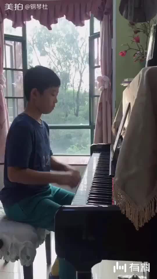 王木天--车尔尼299练习曲No.11