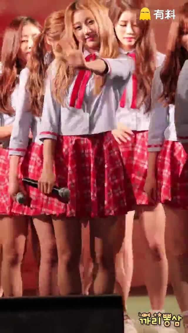 160903 南杨州市茶山文化祭 Lovelyz 郑叡仁 - Candy Jelly Love