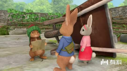 【比得兔】不要轻言放弃