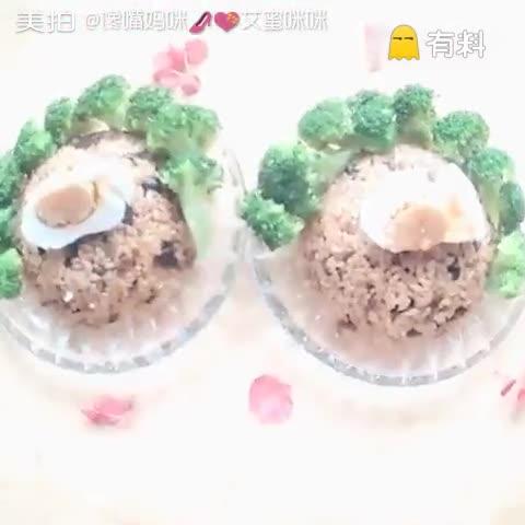 香菇海米焖饭