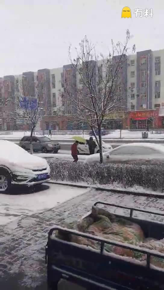 下大雪了………