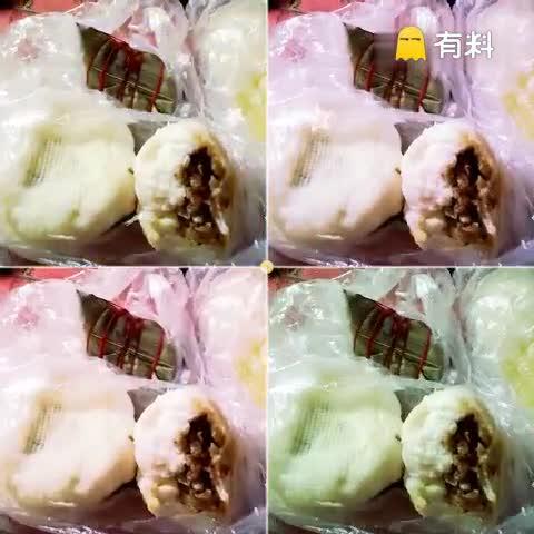 早餐:大肉包 粽子 玉米