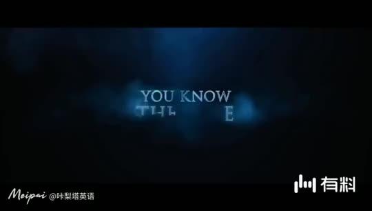 看《沉睡魔咒》预告学英语 女巫的诅咒来了