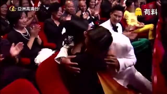在颁奖典礼现场,可以看出柏芝是真心爱谢霆锋的