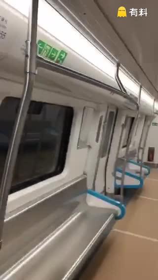 石家庄地铁试运行