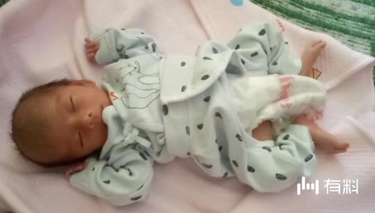乖宝宝睡觉了