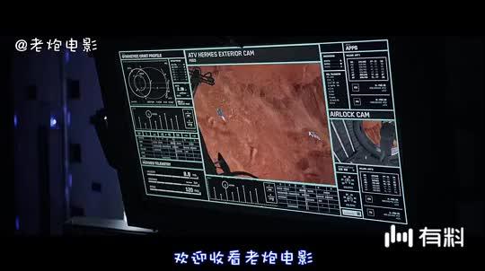 第一个在火星上的人类,与世隔绝长达数年,最后中国救了他