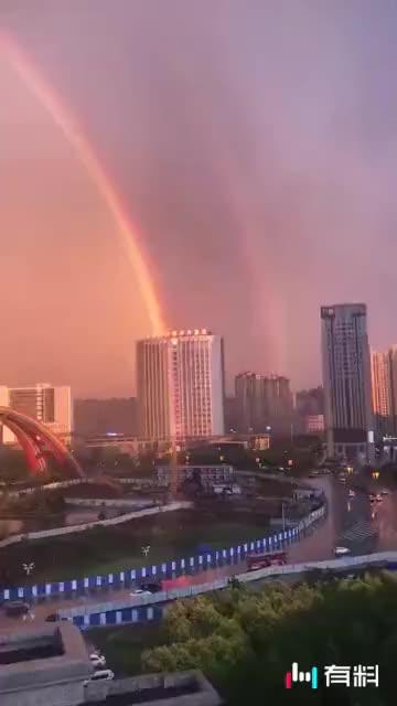 #超级完美的彩虹#