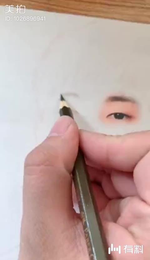 美拍视频: 手绘邓伦