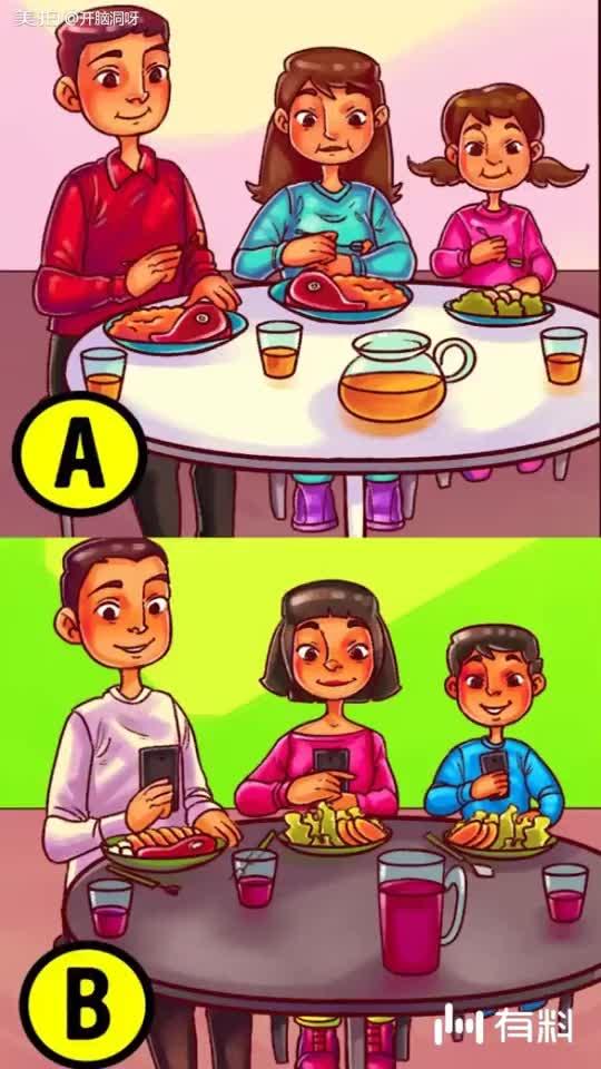 哪个家庭更有钱?