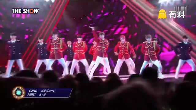 160712 The Show SNUPER - Carry 回归舞台现场版