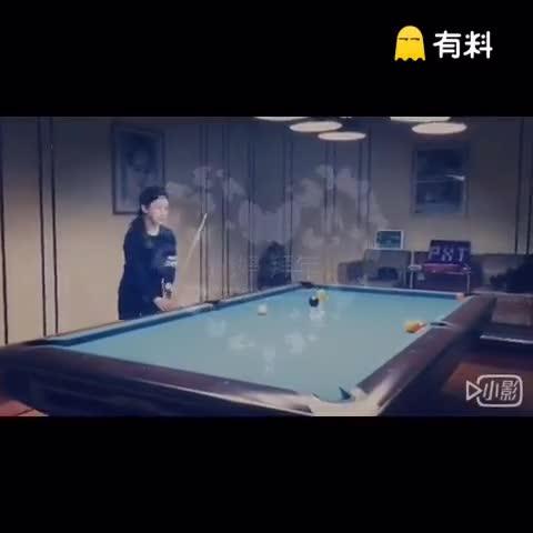潘晓婷花式秀球技